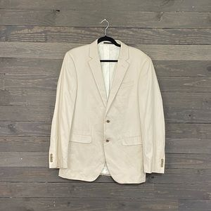 Kenneth Cole Light Beige 2 Button Jacket